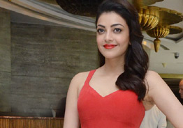 Kajal's pics are a red ablaze