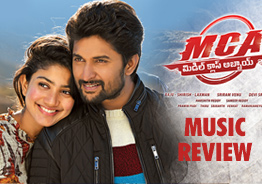 Nani's 'MCA' Music Review