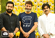 NTR-Trivikram Combo Launched