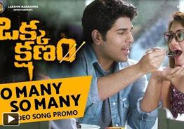 'Okka Kshanam' So Many So Many Video Song Promo