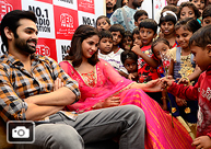 Ram & Lavanya @ Cheers Foundation Diwali Celebrations
