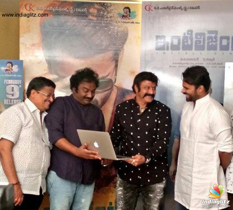 Nandamuri Balakrishna to release Intelligent teaser, what an awesome gesture!