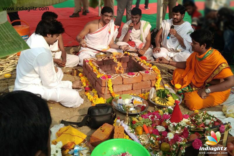 Pawan Kalyan lays foundation for new home in Amaravati