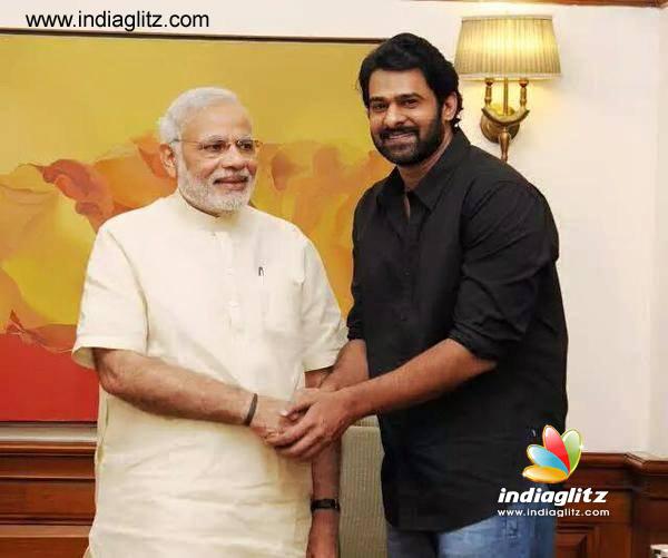 Prabhas Meets PM Modi