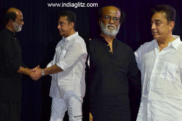 Kamal Haasan is the angriest person I know says Rajinikanth