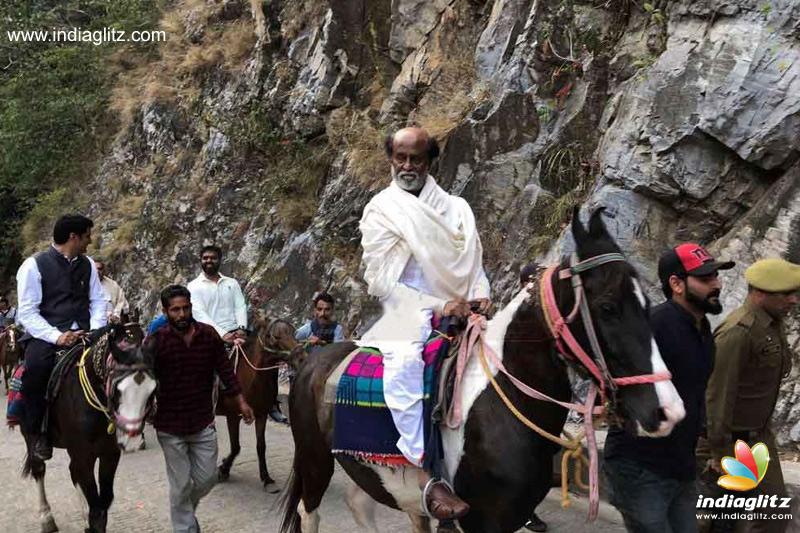 After Espousing 'Spiritual Politics', Rajinikanth Goes On 15-Day Pilgrimage To Himalayas