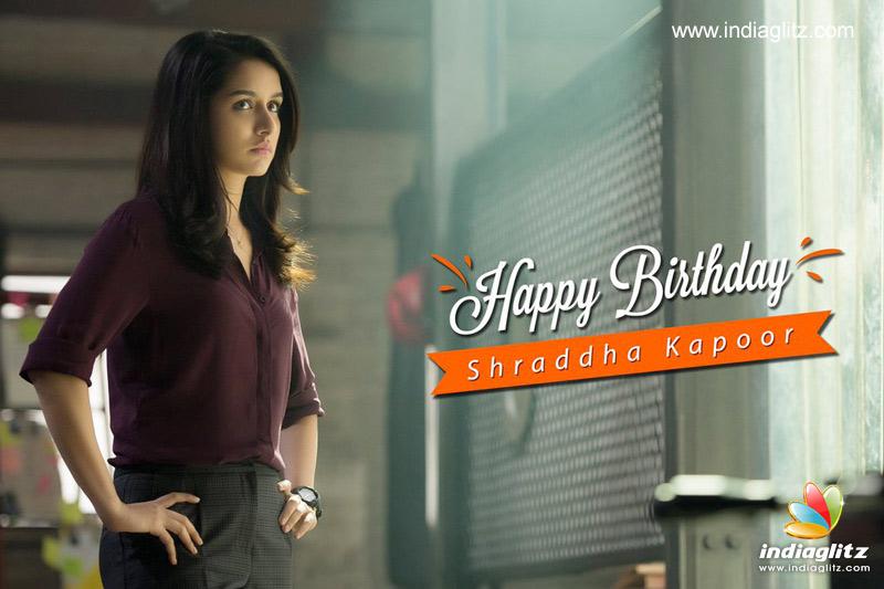 Team 'Saaho' Wishes Shraddha Kapoor