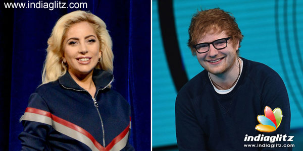 TAGS: Ed Sheeran, lady gaga, twitter