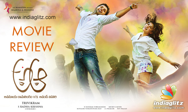 A Aa In Telugu: A Aa Review. A Aa Telugu Movie Review, Story, Rating